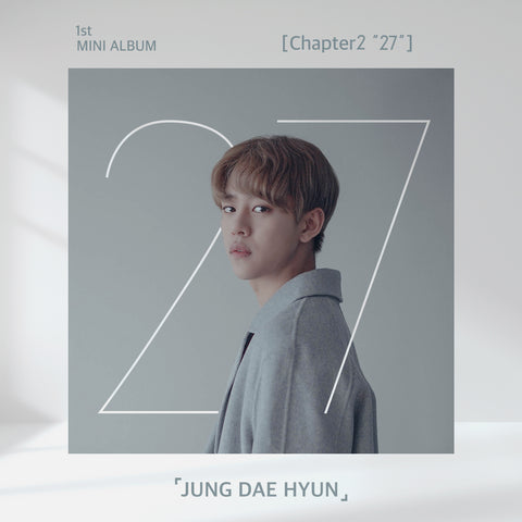 JUNG DAE HYUN (BAP) 1ST MINI ALBUM 'CHAPTER2 27'