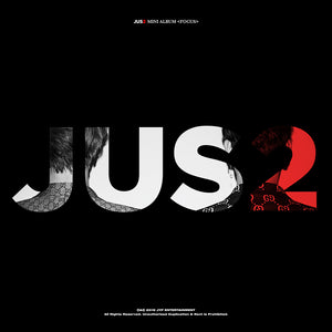 JUS2 (GOT7) MINI ALBUM 'FOCUS' + POSTER
