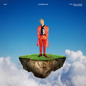 KEY (SHINEE) 1ST ALBUM REPACKAGE 'I WANNA BE' + POSTER