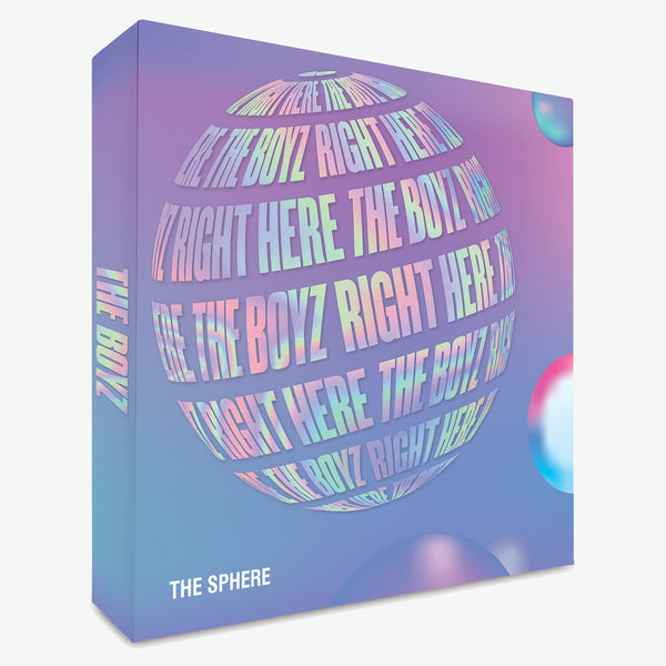 THE BOYZ 1ST SINGLE ALBUM 'THE SPHERE'