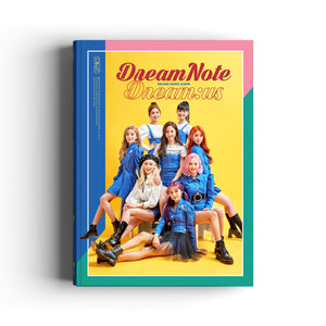 DREAMNOTE 2ND SINGLE ALBUM 'DREAM:US' + POSTER
