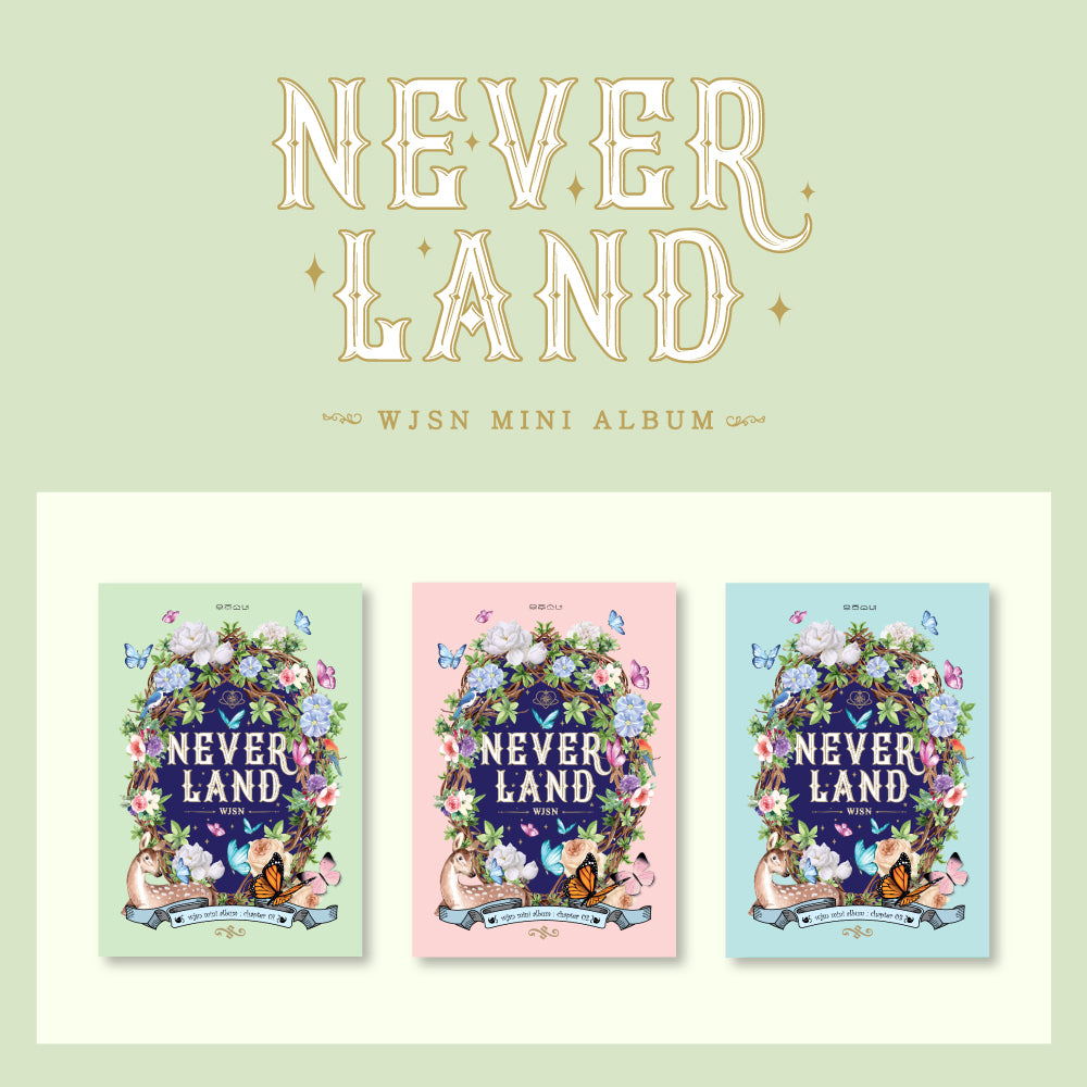 WJSN (COSMIC GIRLS) MINI ALBUM 'NEVERLAND' + POSTER