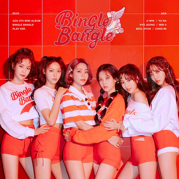 AOA 5TH MINI ALBUM 'BINGLE BANGLE' + POSTER