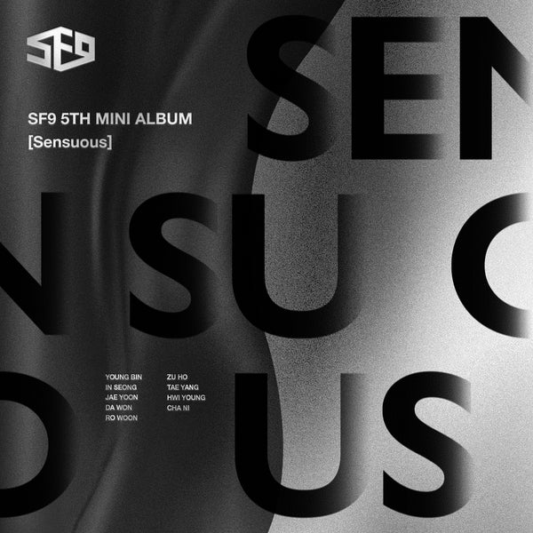 SF9 5TH MINI ALBUM 'SENSUOUS' + POSTER