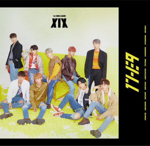 1THE9 1ST MINI ALBUM 'XIX' + POSTER