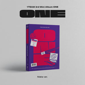 1TEAM 3RD MINI ALBUM 'ONE'