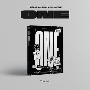 1TEAM 3RD MINI ALBUM 'ONE' + POSTER