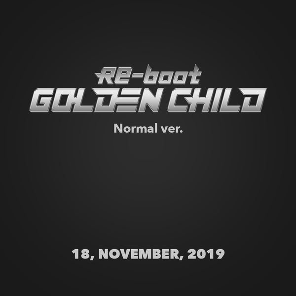 GOLDEN CHILD 1ST ALBUM 'RE-BOOT' + POSTER