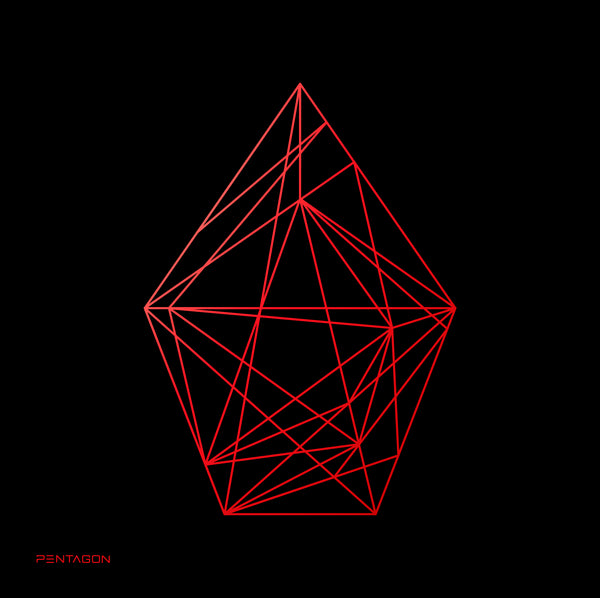 PENTAGON 1ST ALBUM 'UNIVERSE : THE BLACK HALL' + POSTER