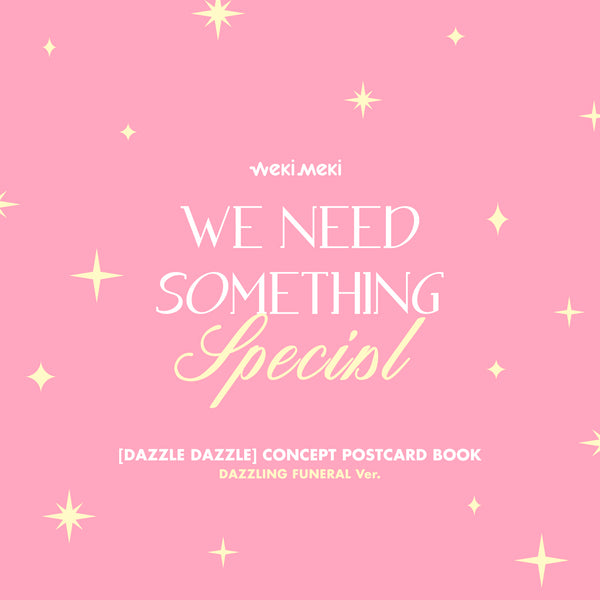 WEKI MEKI DIGITAL SINGLE 'DAZZLE DAZZLE CONCEPT POSTCARD BOOK'