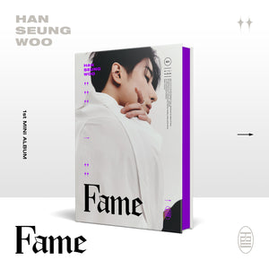 HAN SEUNG WOO (VICTON) 1ST MINI ALBUM 'FAME' + POSTER