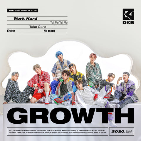 DKB 3RD MINI ALBUM 'GROWTH'