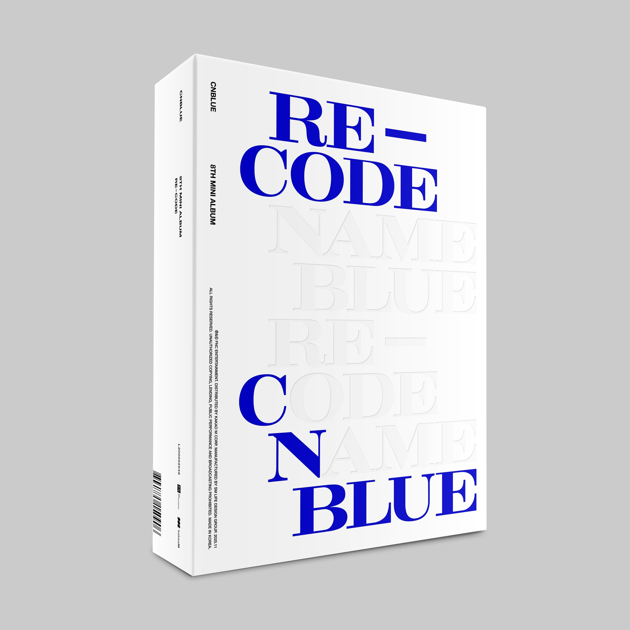 CNBLUE 8TH MINI ALBUM 'RE-CODE' + POSTER