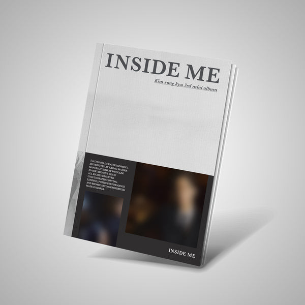 KIM SUNG KYU (INFINITE) 3RD MINI ALBUM 'INSIDE ME'