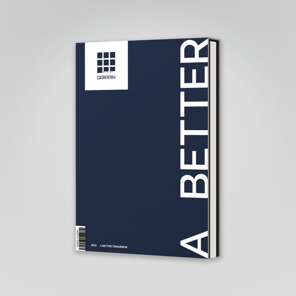 DRIPPIN 2ND MINI ALBUM 'A BETTER TOMORROW' + POSTER