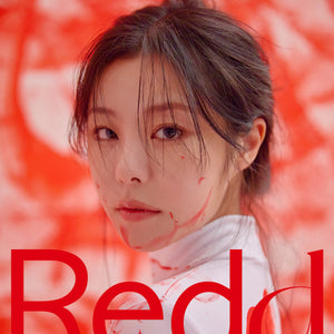 WHEE IN (MAMAMOO) 1ST MINI ALBUM 'REDD' + POSTER