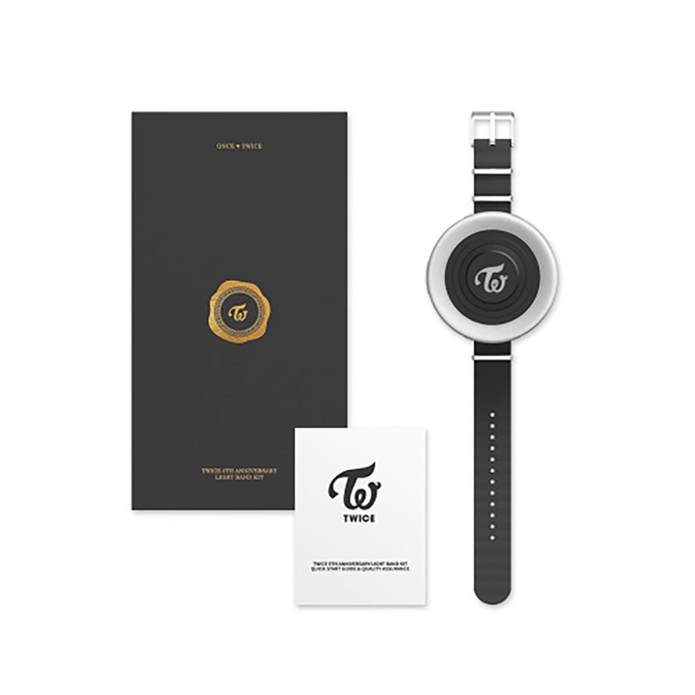 TWICE 5TH ANNIVERSARY OFFICIAL LIGHT BAND KIT