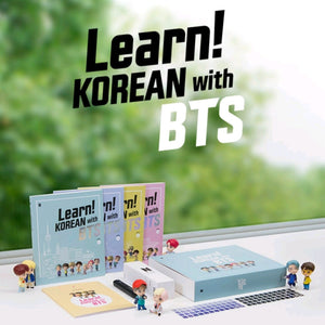 BTS 'LEARN! KOREAN WITH BTS' BOOK PACKAGE