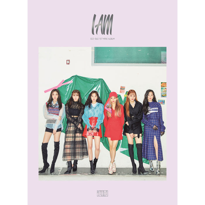 (G)I-DLE 1ST MINI ALBUM 'I AM'