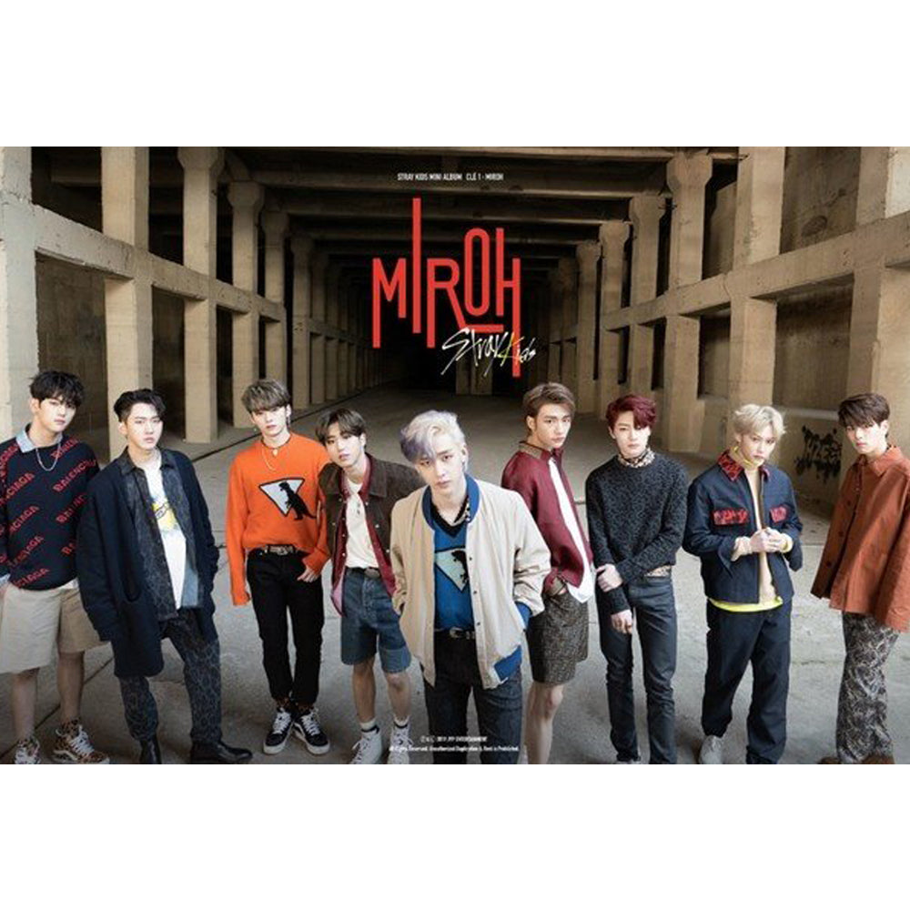 STRAY KIDS MINI ALBUM 'CLE 1 : MIROH' POSTER ONLY