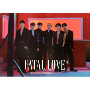 MONSTA X 3RD ALBUM 'FATAL LOVE' POSTER ONLY