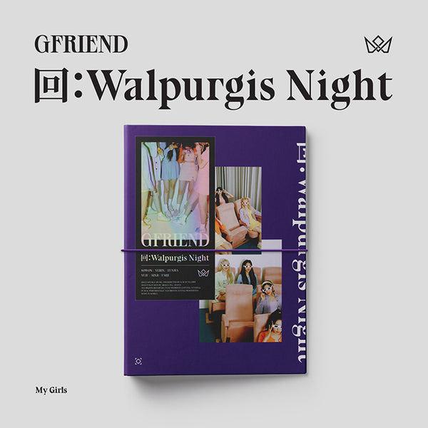 GFRIEND ALBUM '回 : WALPURGIS NIGHT' + POSTER