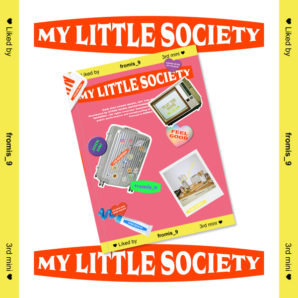 FROMIS_9 3RD MINI ALBUM 'MY LITTLE SOCIETY' + POSTER