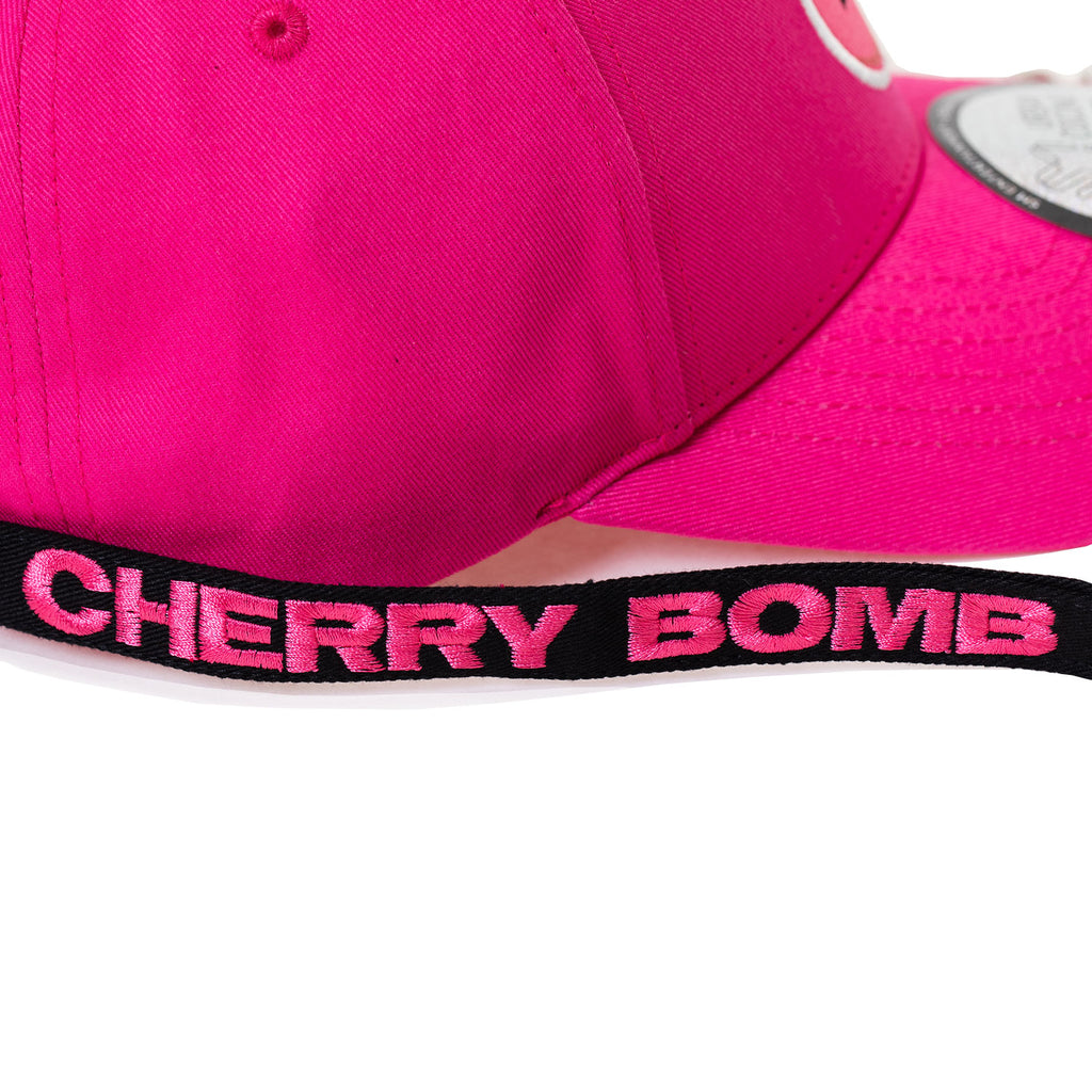 NCT 127  CHERRY BOMB DAD HAT WITH LONG STRAP   RINGS  – KPOP REPUBLIC 6953d54f6b5c