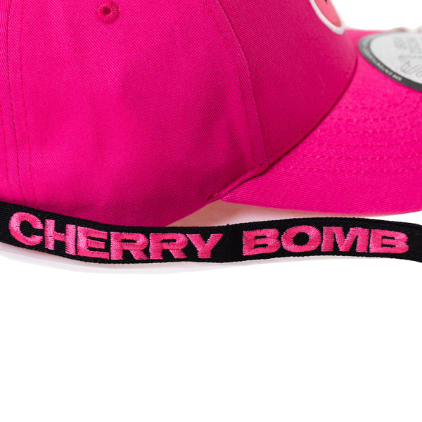 NCT 127 'CHERRY BOMB DAD HAT WITH LONG STRAP & RINGS'