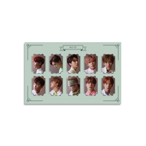NCT 127 OFFICIAL PHOTO METAL BADGE SET