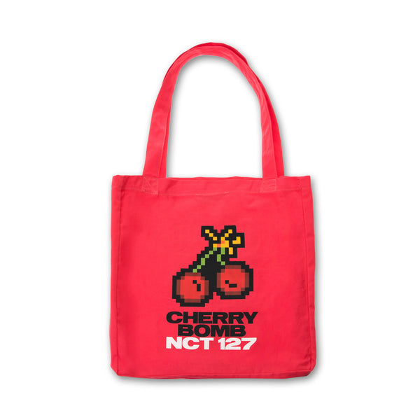 NCT 127 'OFFICIAL CHERRY BOMB TOTE BAG'
