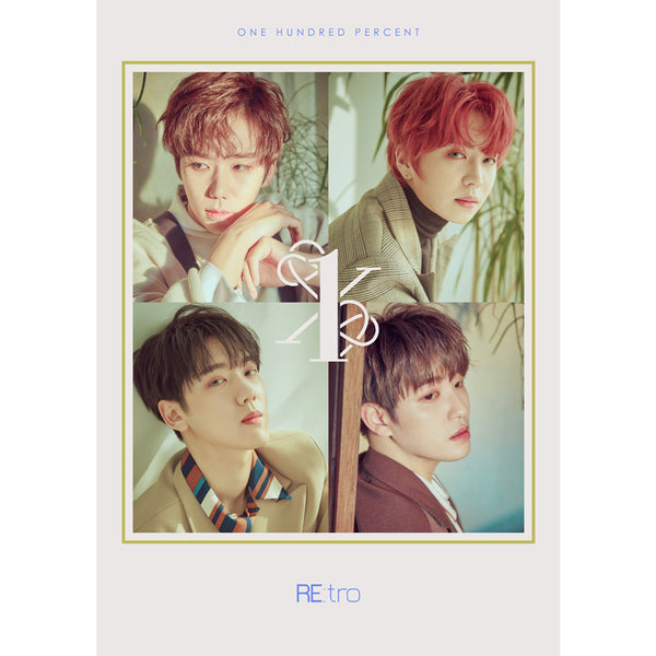 ONE HUNDRED PERCENT 6TH MINI ALBUM 'RE:TRO' + POSTER