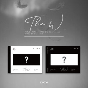PARK JI HOON 3RD MINI ALBUM 'THE W'
