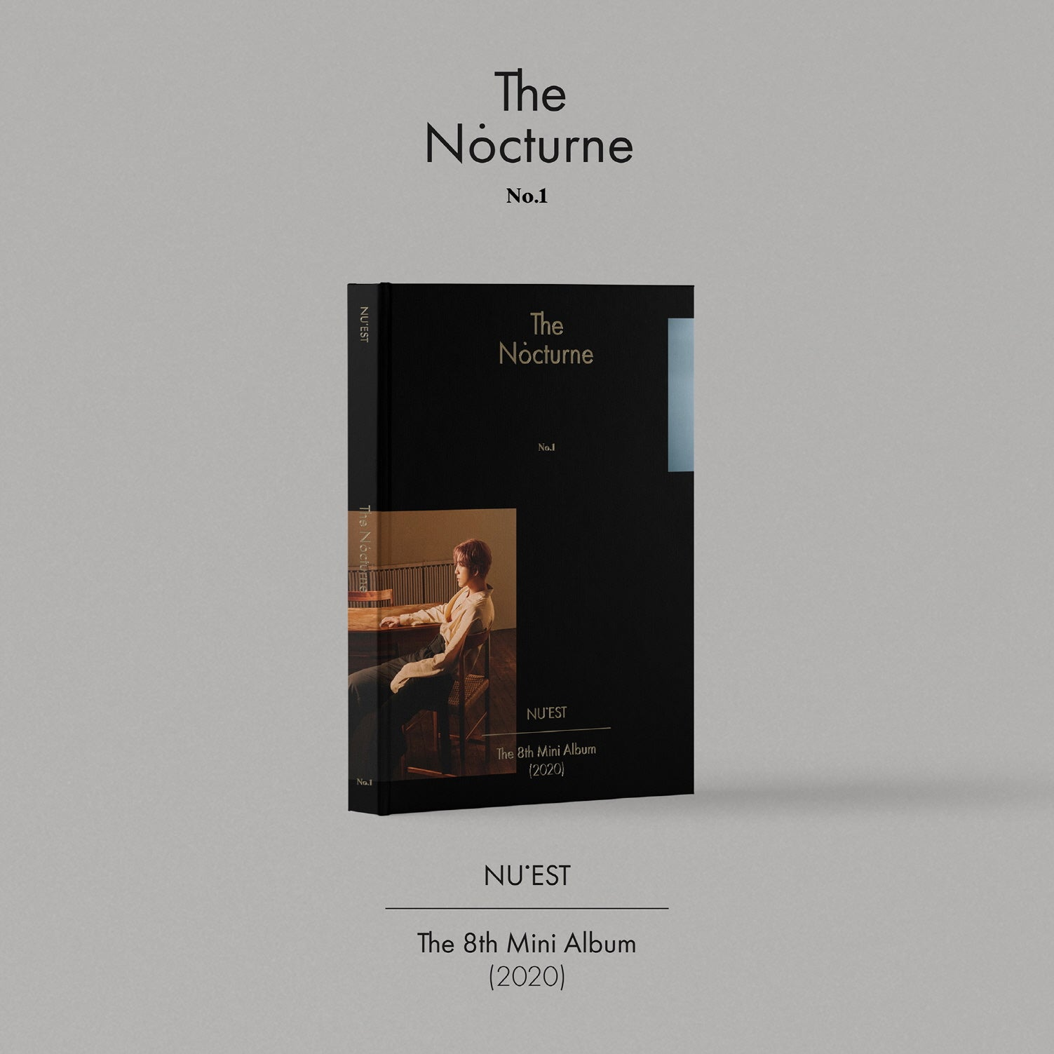 NU'EST 8TH MINI ALBUM 'THE NOCTURNE' + POSTER