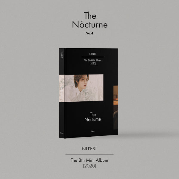 NU'EST 8TH MINI ALBUM 'THE NOCTURNE'