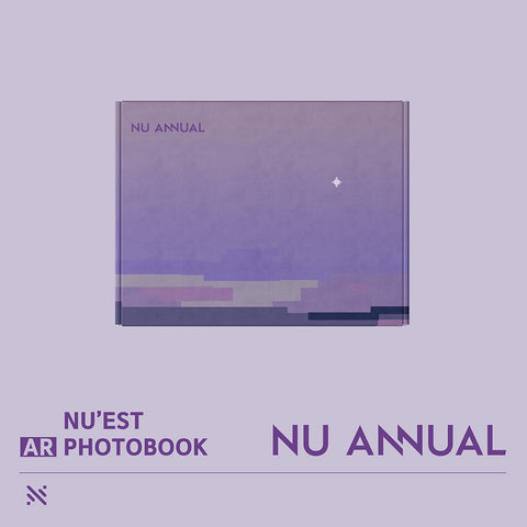 NU'EST 'NU ANNUAL AR PHOTO BOOK'