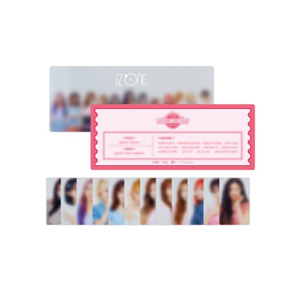 IZ*ONE '2020 ONEIRIC THEATER TICKET CARD & PHOTO CARD SET'