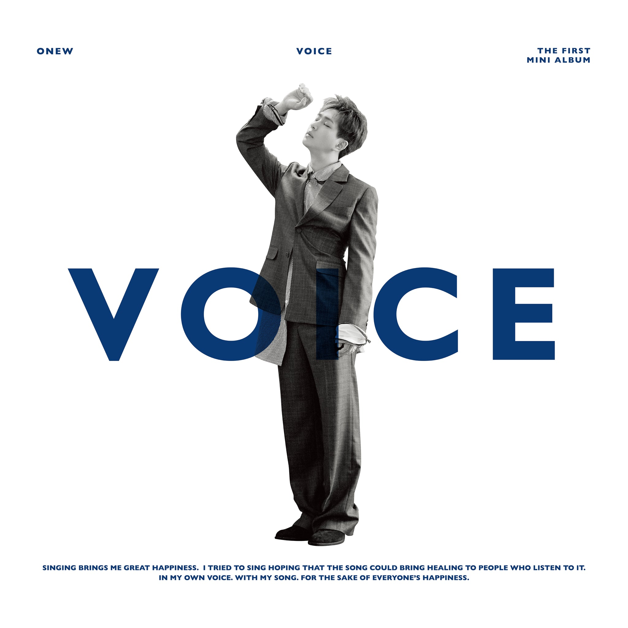 ONEW (SHINEE) 1ST MINI ALBUM 'VOICE'