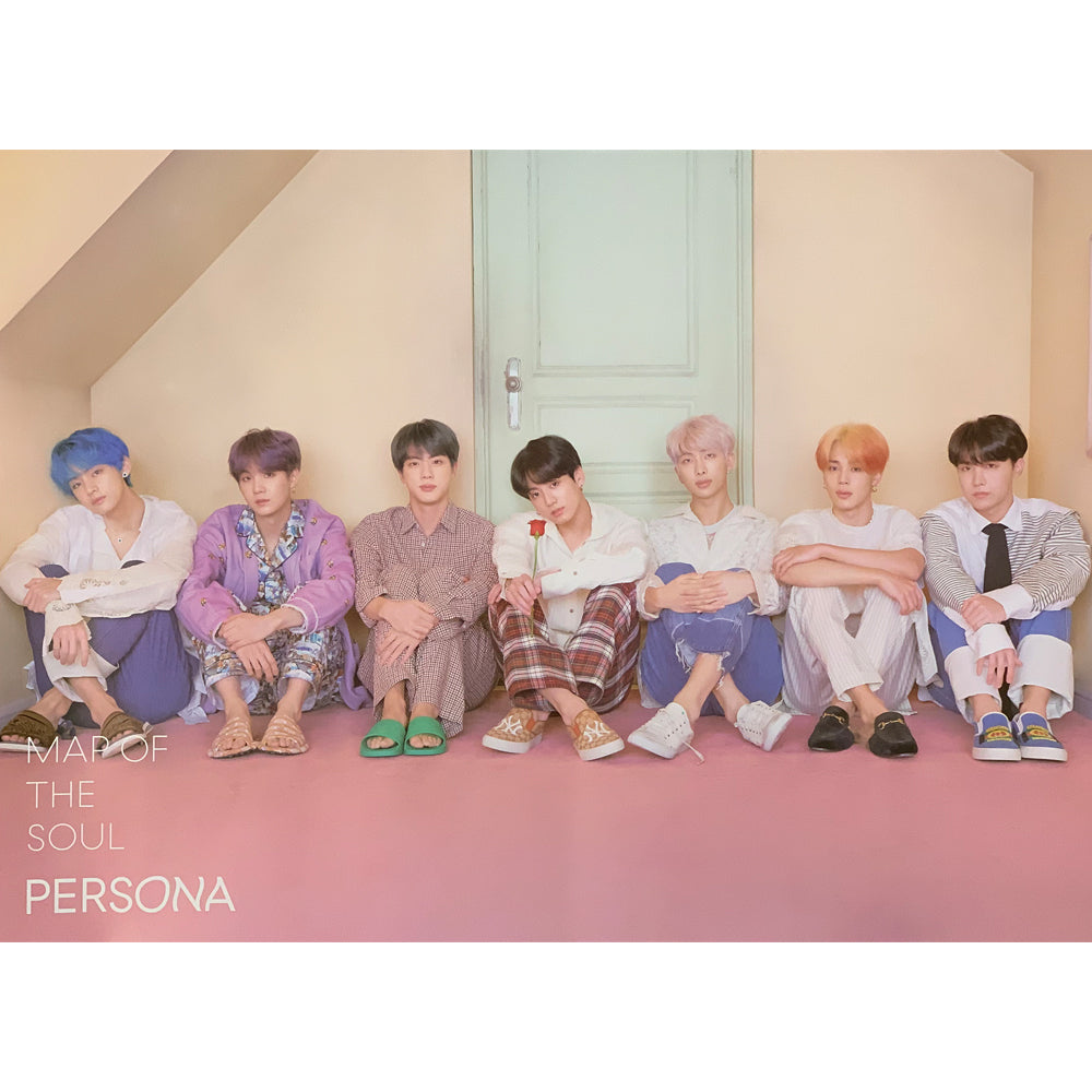 BTS 6TH MINI ALBUM 'MAP OF THE SOUL : PERSONA' POSTER ONLY