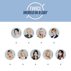 TWICE '2020 WORLD IN A DAY IMAGE PICKET'