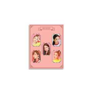 RED VELVET OFFICIAL PHOTO METAL BADGE SET