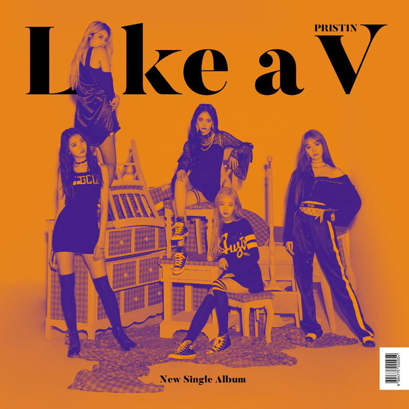 PRISTIN V SINGLE ALBUM 'LIKE A V'