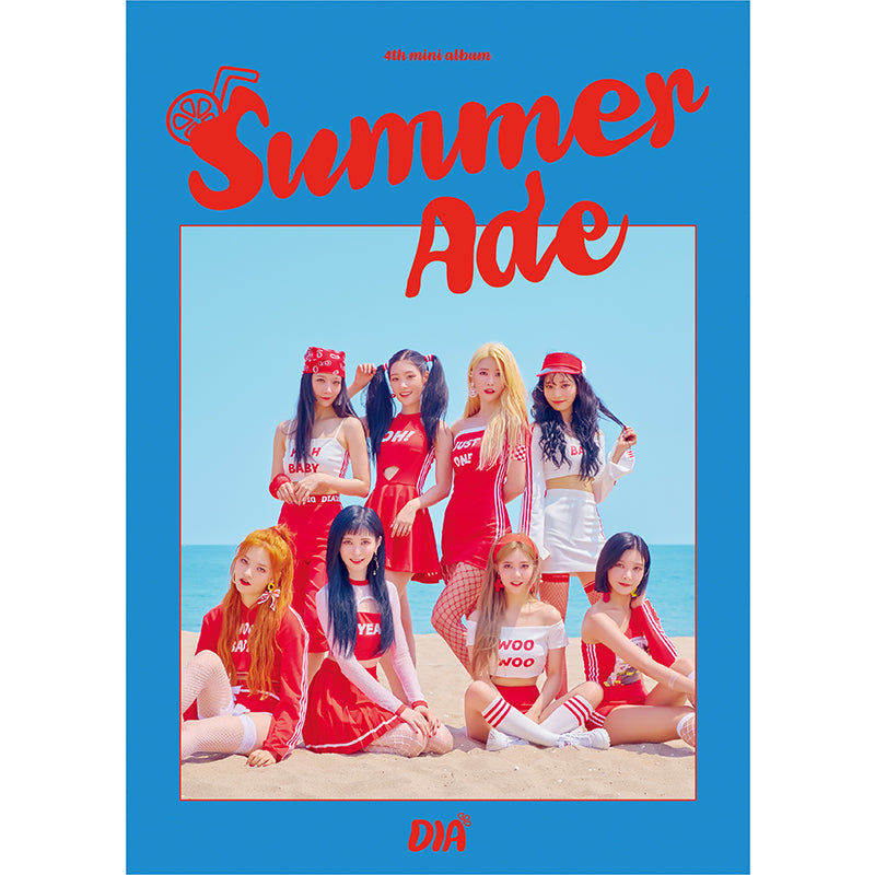 DIA 4TH MINI ALBUM 'SUMMER ADE' + POSTER