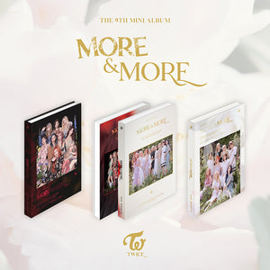 TWICE 9TH MINI ALBUM 'MORE & MORE'