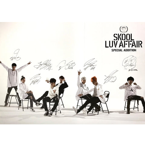 BTS SPECIAL ALBUM 'SKOOL LUV AFFAIR SPECIAL ADDITION 2020' POSTER ONLY