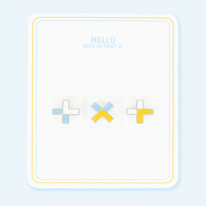 TOMORROW X TOGETHER (TXT) OFFICIAL DEBUT MD STAR ALBUM BADGE SET (VER 1)