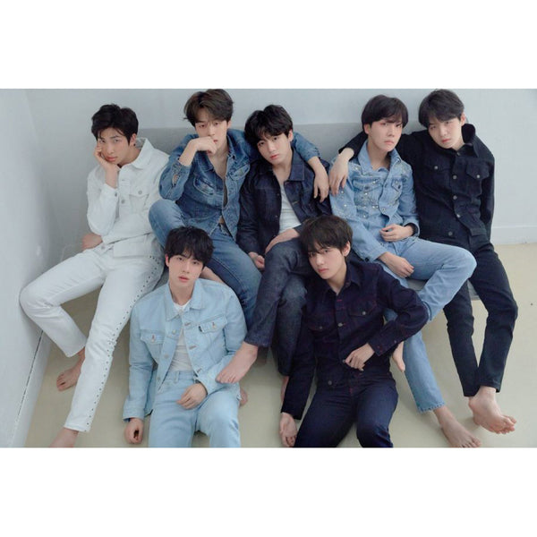 BTS 3RD ALBUM 'LOVE YOURSELF 轉 TEAR' POSTER ONLY