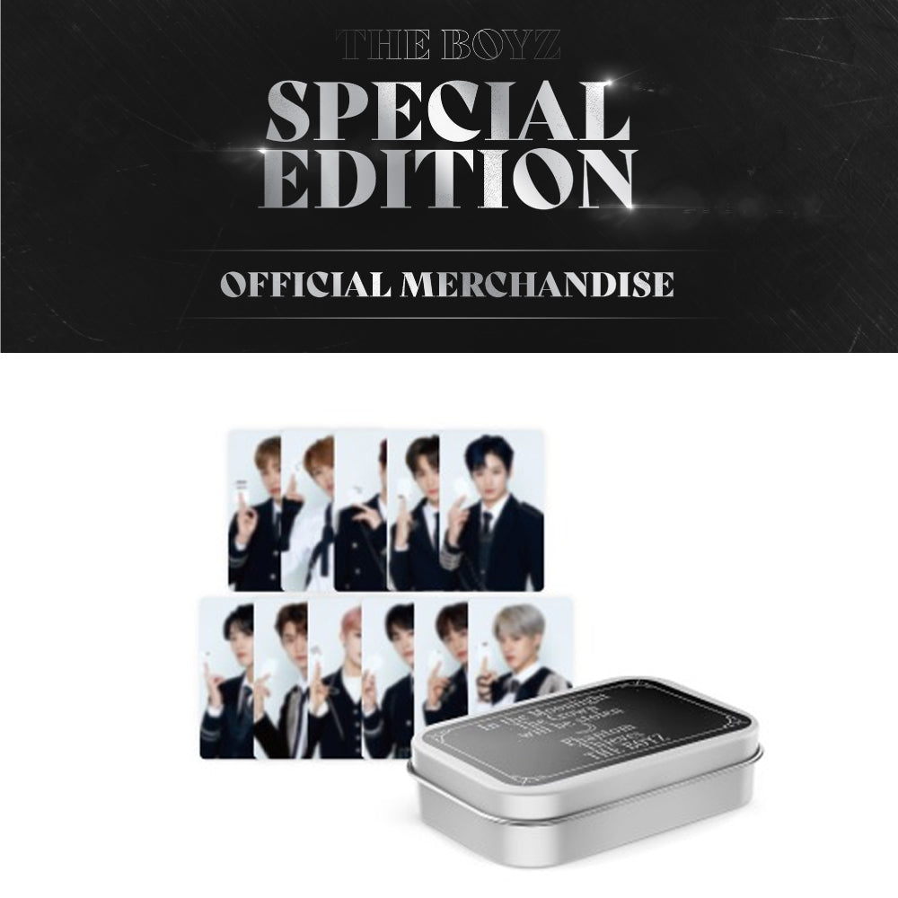 THE BOYZ '2020 SPECIAL EDITION TIN CASE + PHOTO CARD SET'