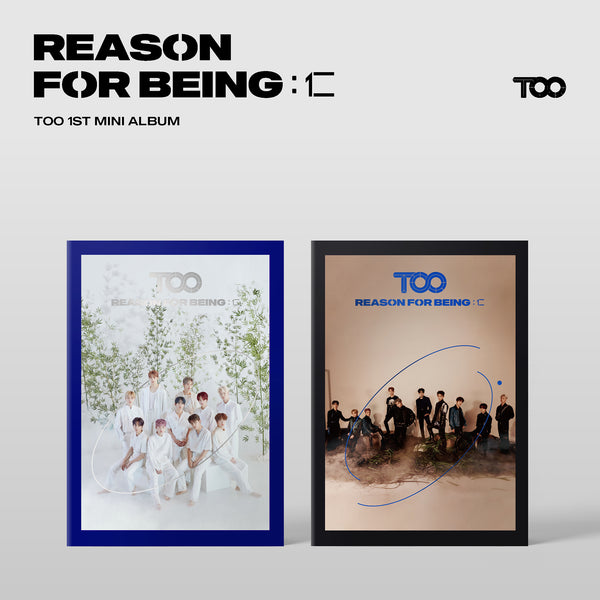 TOO 1ST MINI ALBUM 'REASON FOR BEING :인(仁)' + POSTER