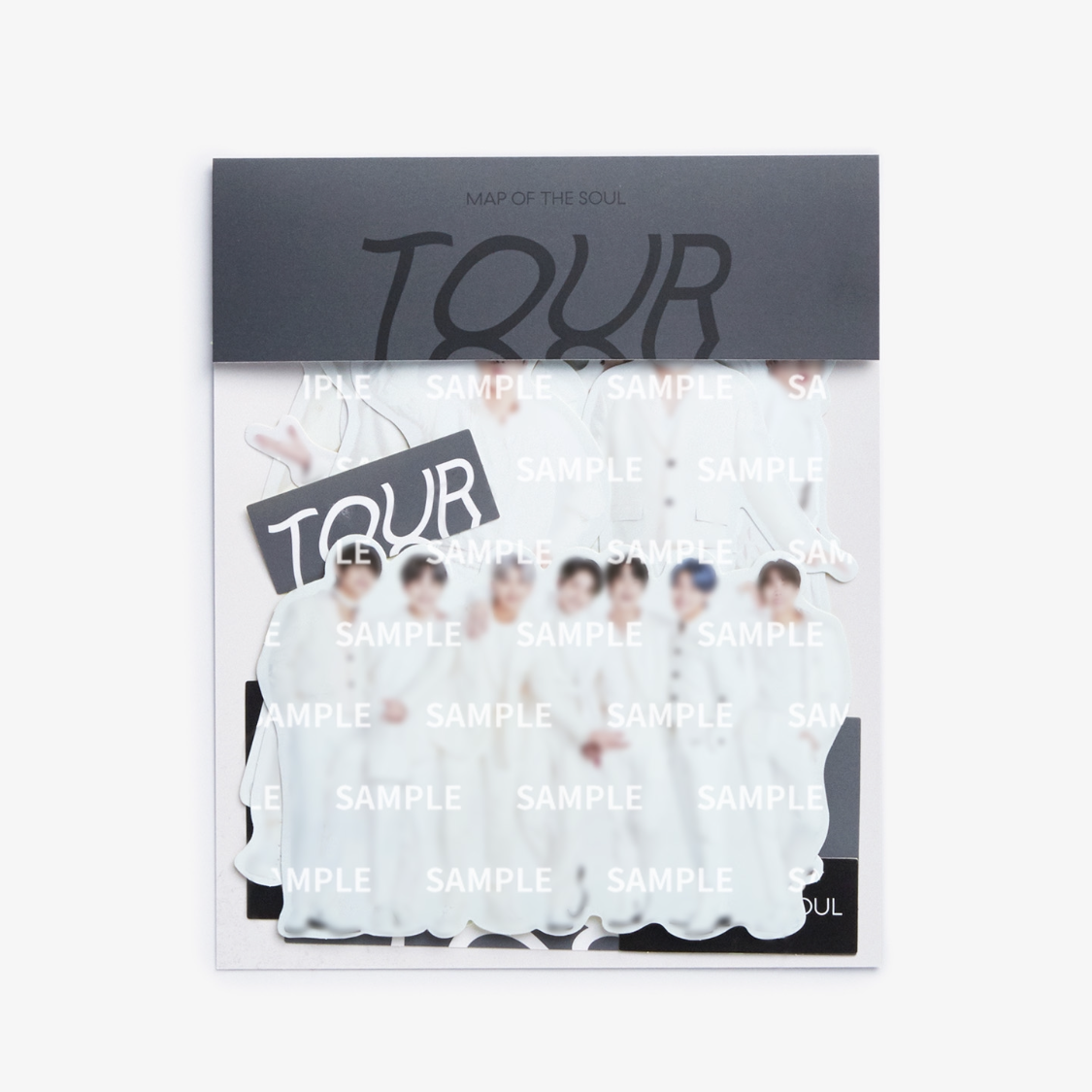 BTS 'MAP OF THE SOUL TOUR STICKER SET'